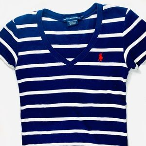 Striped Ralph Lauren Shirt 💙